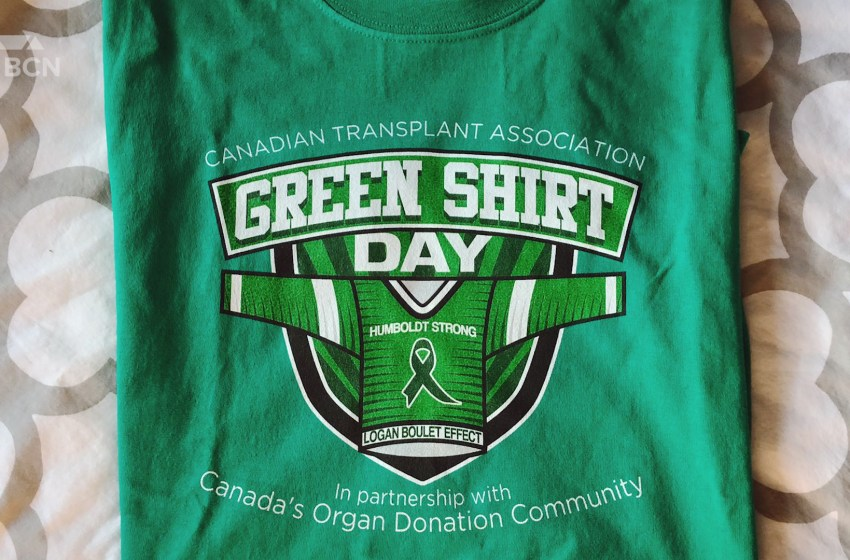 April 7 declared Green Shirt Day in Lethbridge