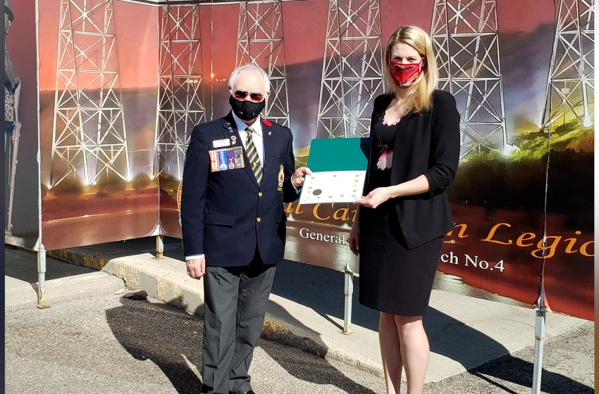 Federal government funding received by Lethbridge Legion