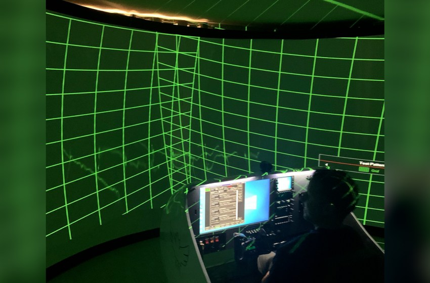 Flight simulator session to take place this weekend