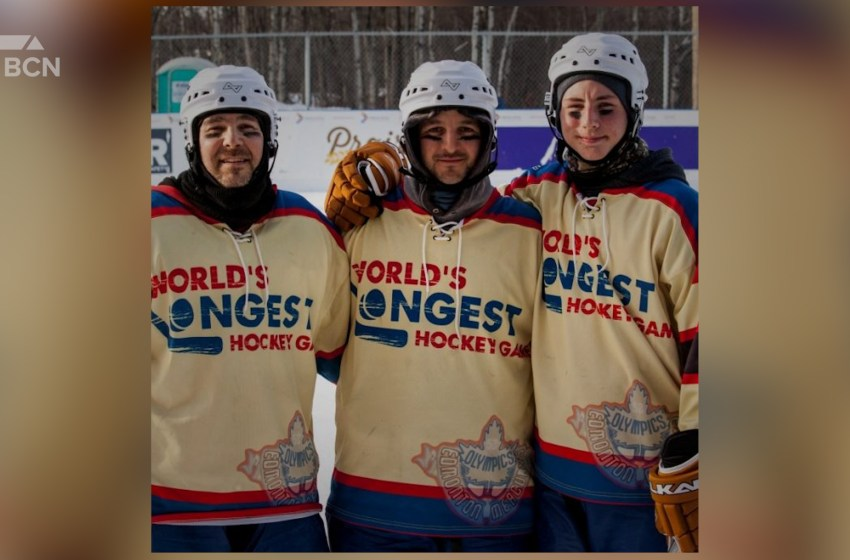 World's Longest Hockey Game braves the cold