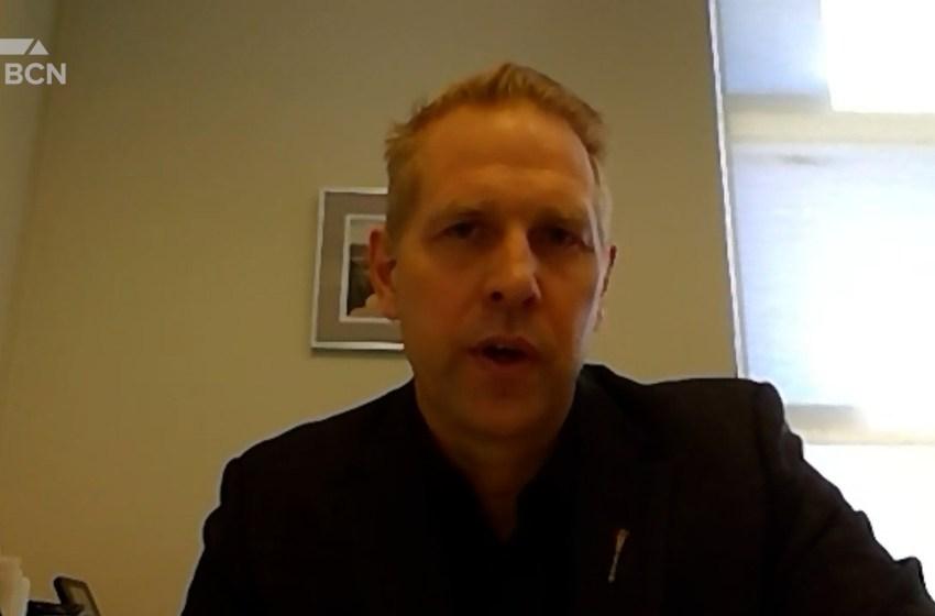 Nathan Neudorf speaks on new elementary school curriculum draft