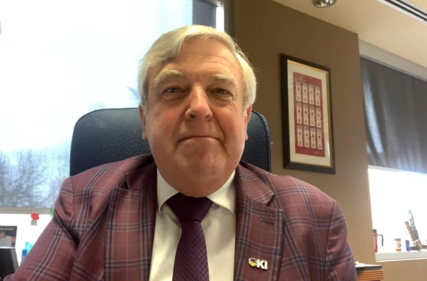 Lethbridge Mayor Chris Spearman shares concerns about his city.