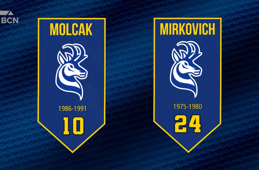 Pronghorns Athletics to retire two jersey numbers