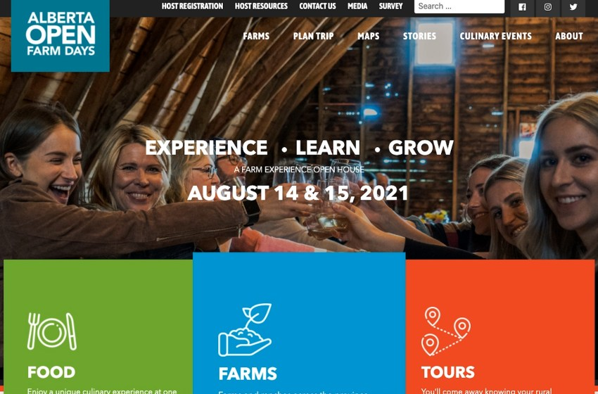 This is the 9th year running for Alberta Open Farm Days
