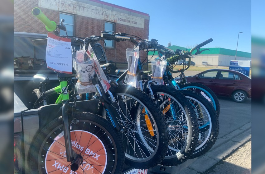 Lethbridge bands together to donate bikes for kids in need