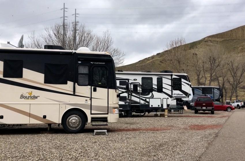 Camping amid COVID
