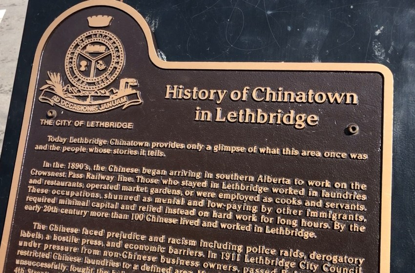 Galt Museum CEO gives insight into Lethbridge's Asian History
