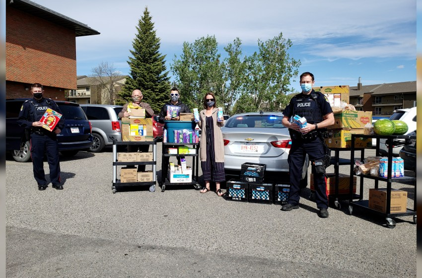 Food donations give huge boost to Lethbridge families