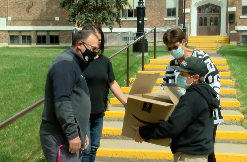 Evangelical Free Church of Lethbridge donates 40 chromebooks