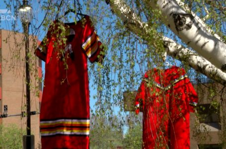Lethbridge takes part in Red Dress Day to honour MMIWG2S+