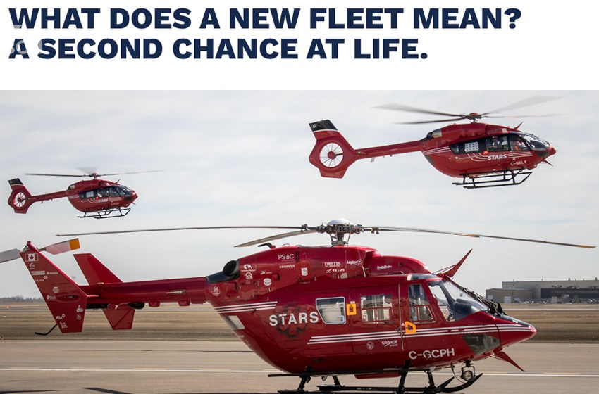 STARS receives $400,000 from Cargill for new helicopters