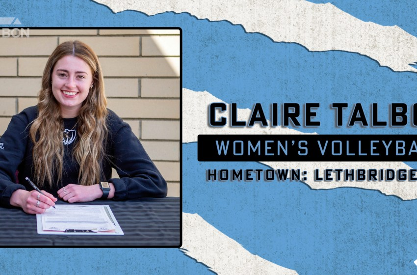 Kodiaks women's volleyball sign local player Claire Talbot