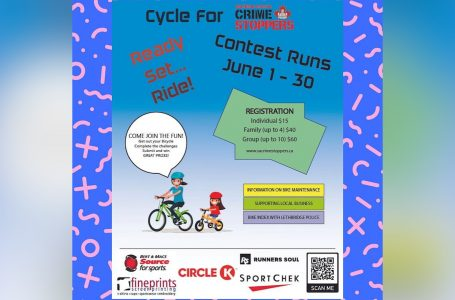 Southern Alberta Crime Stoppers to raise funds with cycling event