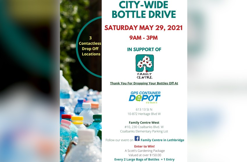 Community support needed for bottle drive