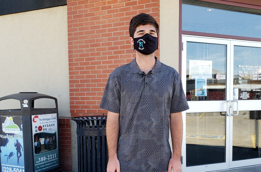 Local mask challenge encouraging mask wearing and the support of businesses