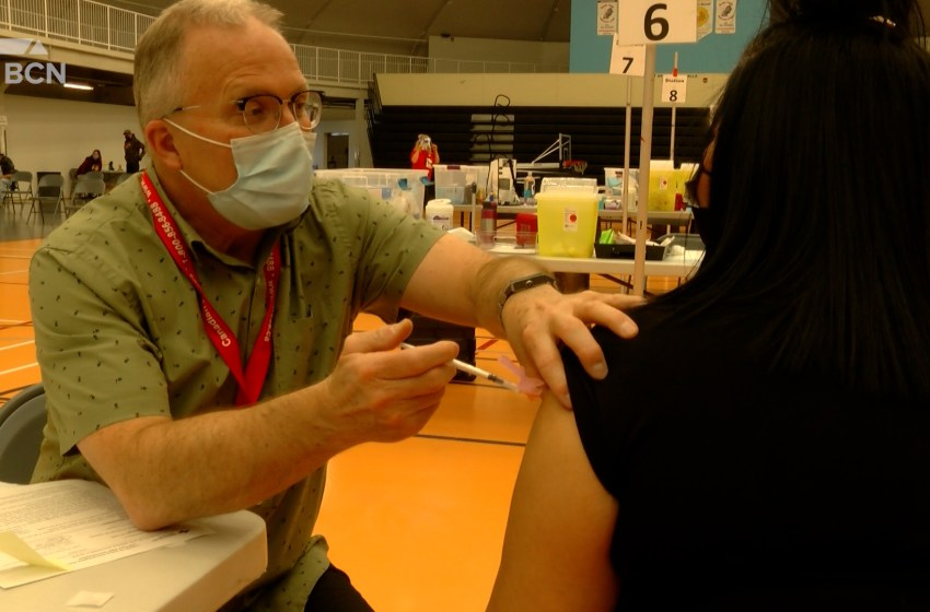 Over half of eligible Blood Tribe members have received at least one dose of vaccine