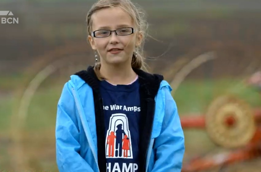 War Amps reacts to Barnwell teen winning international award