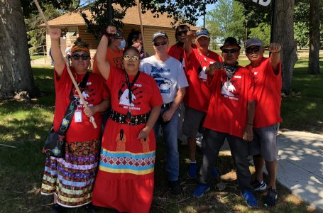 Indigenous men walking cross-Canada to Ottawa to raise awareness of MMIWs, bodies found at former residential schools