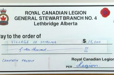 Village of Stirling receives added funding for cenotaph project