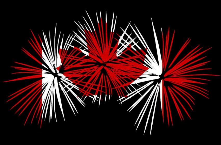 Canada Day festivities in Granum include parade and 20-minute-long fireworks display