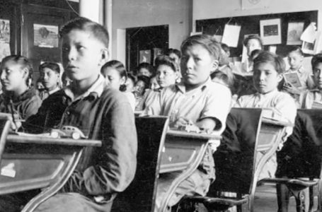 Ceremony of support for residential school victims