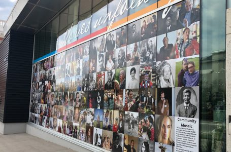 Galt Museum mosaic features faces of Lethbridge, past and present
