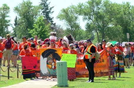 Indigenous Awareness Rally brings out hundreds of community members