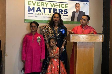 Suketu Shah launches campaign for seat on Lethbridge City Council