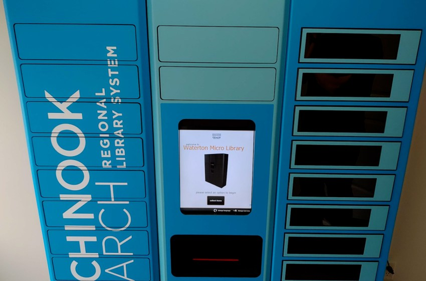 New micro-library for Waterton