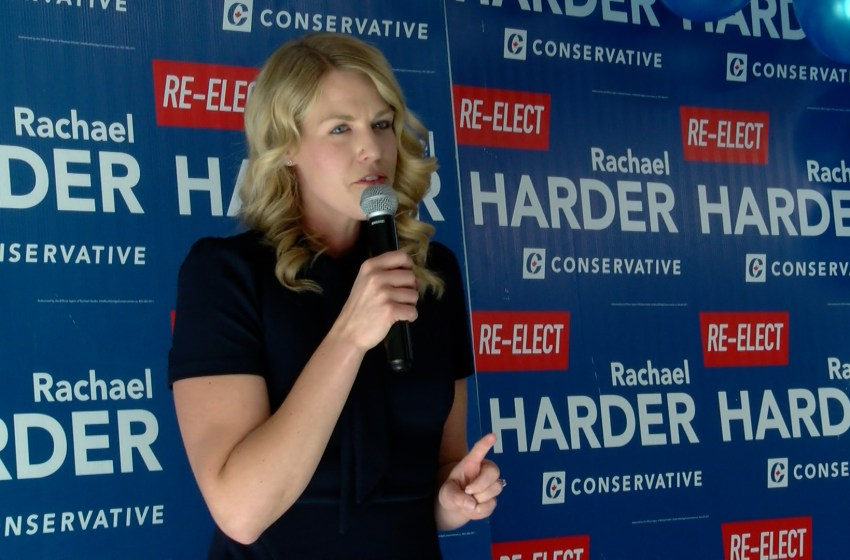 Rachael Harder begins campaign launch