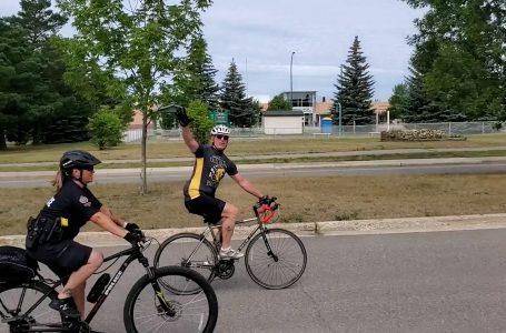 Bike trip fundraiser raising support to combat PTSD
