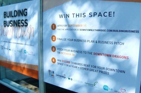 Downtown Lethbridge BRZ implements Dragon's Den style program