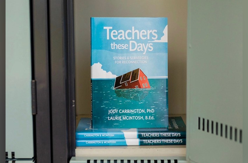 Laurie McIntosh co-authors new book highlighting teacher stories