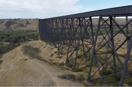 Lethbridge's iconic High Level Bridge tops list of engineering marvels in province