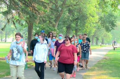 Citizen Walk About raising awareness and funds for people living with disabilities