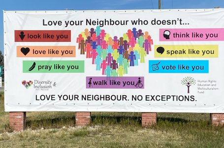 Fort Macleod's diversity and inclusion billboard garnering attention