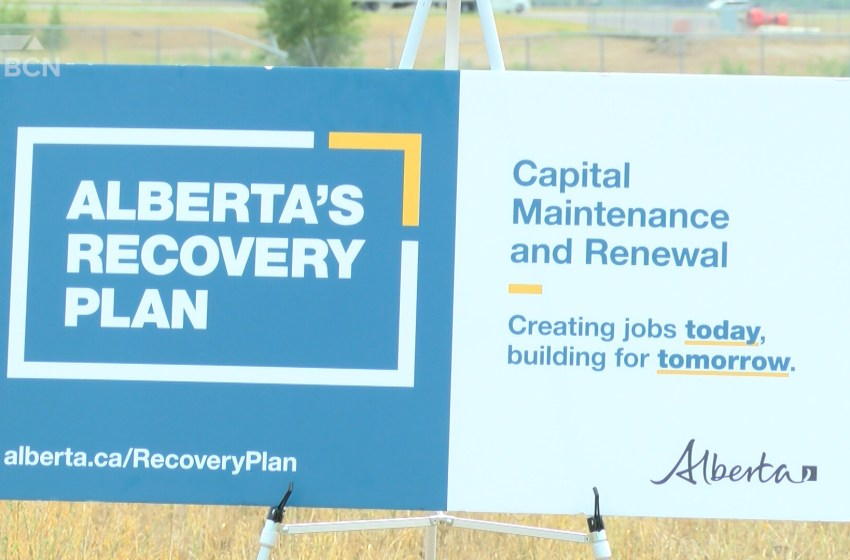 Alberta Government building, renewing infrastructure in Lethbridge