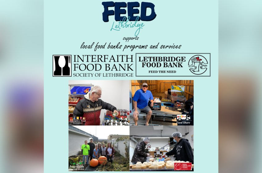 Feed Lethbridge to raise funds for food banks