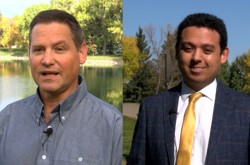 Two council candidates who want to reduce crime and spending