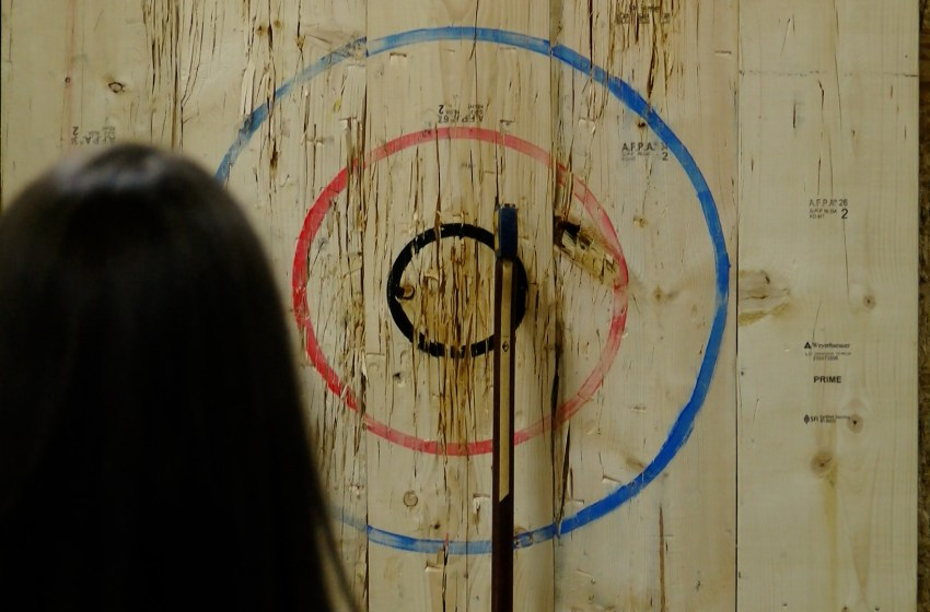 Axe throwing fundraiser to raise money for charity