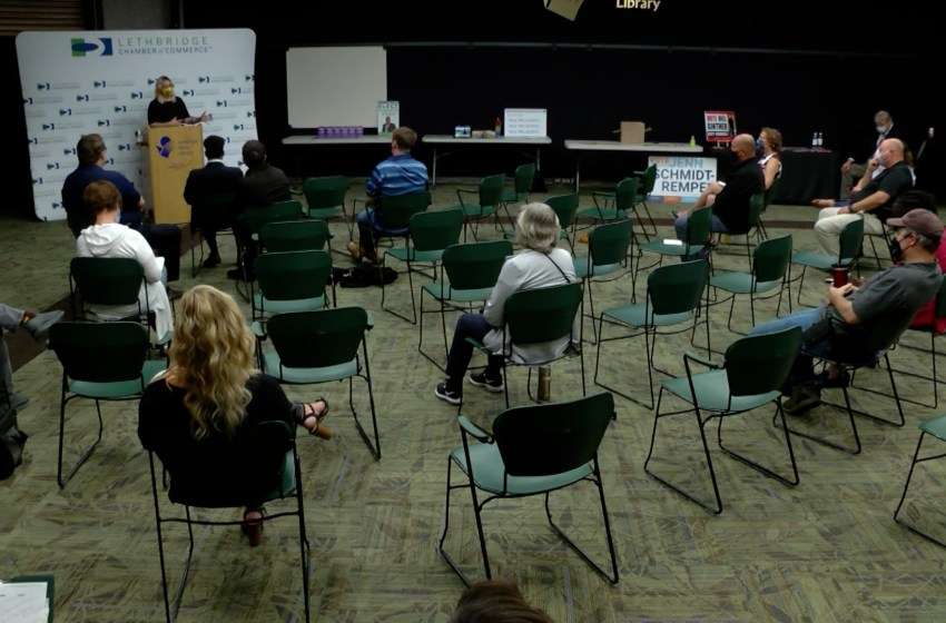 City councillor hopefuls network with potential voters