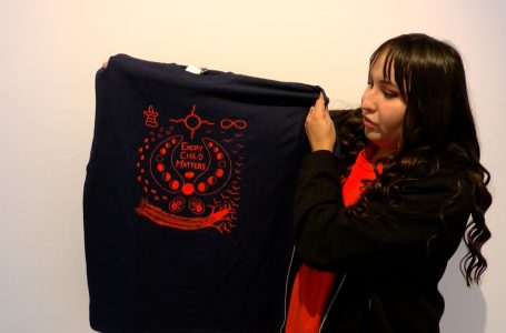 New reconciliation t-shirt designed by Blackfoot artist