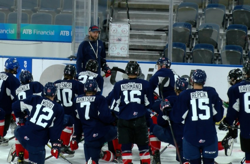 Lethbridge Hurricanes hit the ice for the  2021-22 training camp on Thursday
