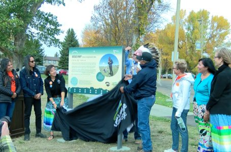 Lethbridge College recognize Truth and Reconciliation Week by unveiling new Iissksiniip Coulee Walk