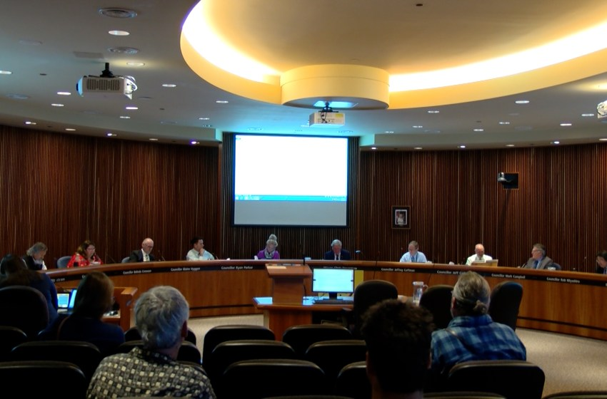 Lethbridge city council held its final meeting ahead of municipal election
