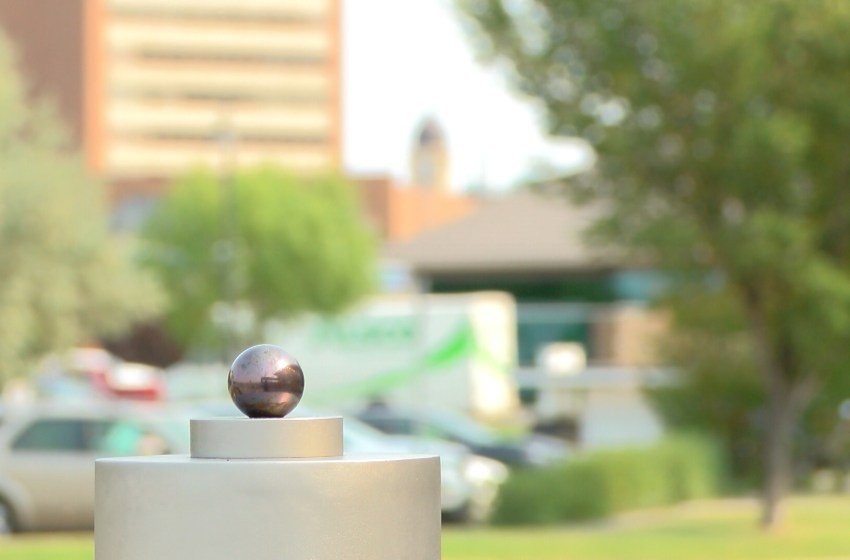 New solar system model unveiled in Lethbridge stretching from downtown to Park Lake