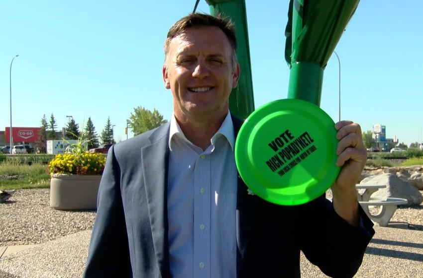 Rick Popadynetz going for Taber mayor's seat