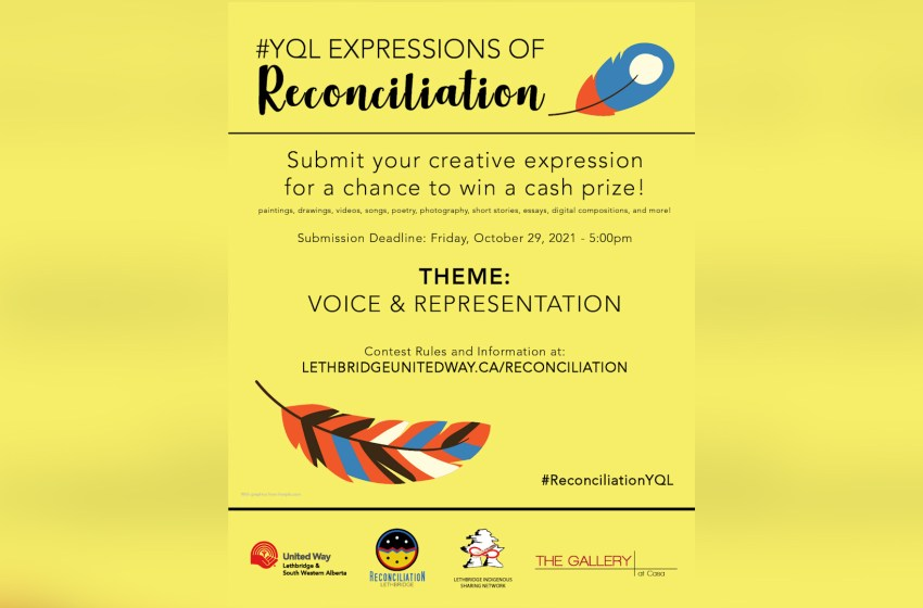 Reconciliation art contest started by United Way