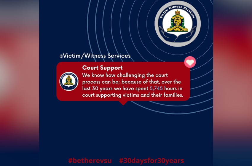 Call for volunteers from Victim/Witness Services Unit