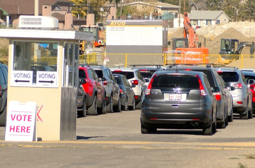 Municipal election drive-through voting offered this weekend